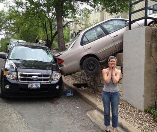 Женщинам за рулём посвящается! Это надо обязательно увидеть!