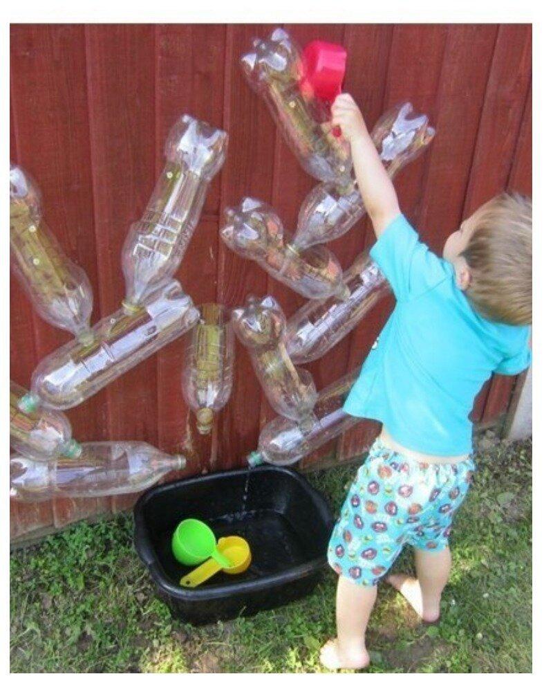 Это уже посложнее и с водой Фабрика идей, гениально, дети, занятие, интересное, родители, увлечение