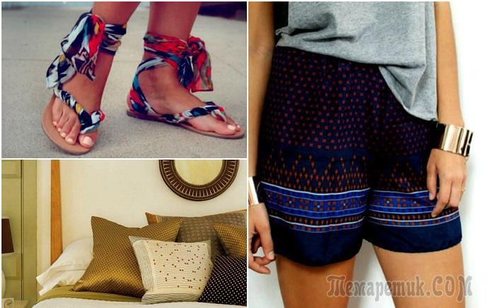 17 способов использования шарфиков и шейных платков по-новому