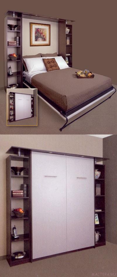 Как своими руками сделать кровать шкаф 62