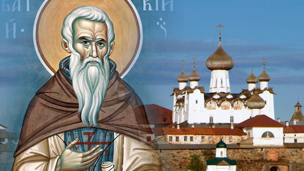 Преподобный Савватий Соловецкий. Православный календарь на 10 октября