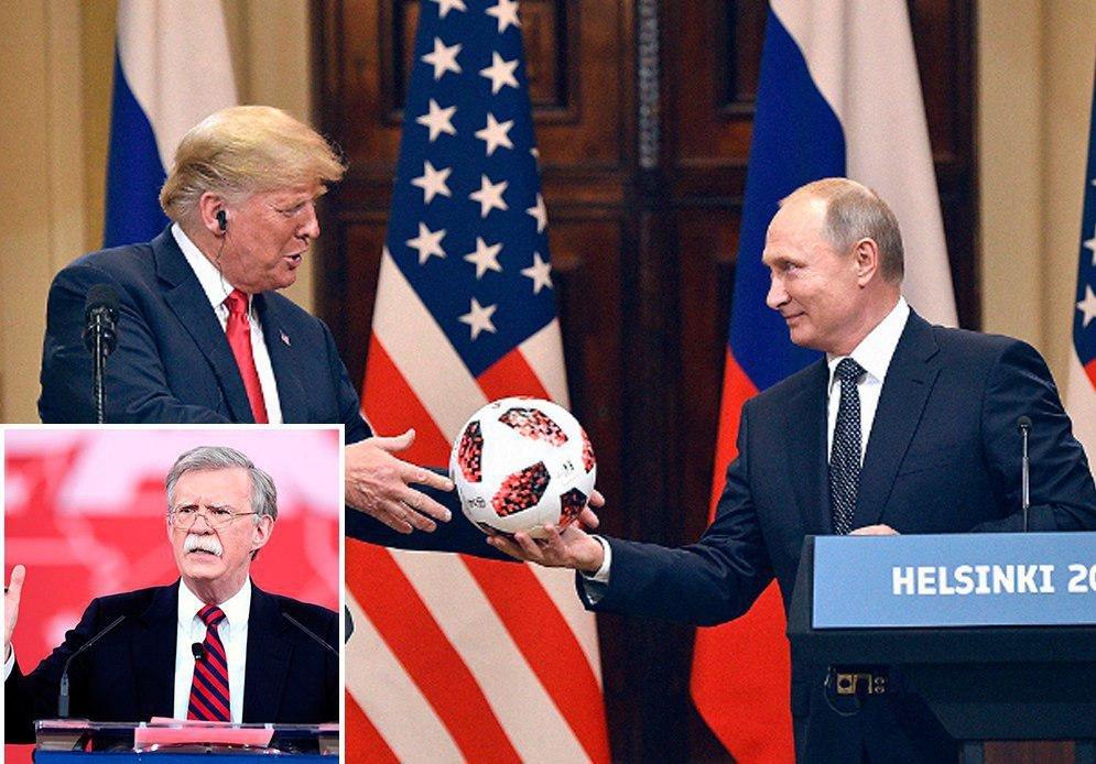 Шойгу на встрече с Болтоном отметил восстановление диалога РФ и США