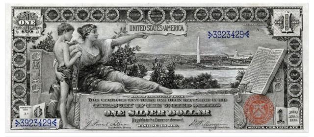 Эволюция долларовых банкнот