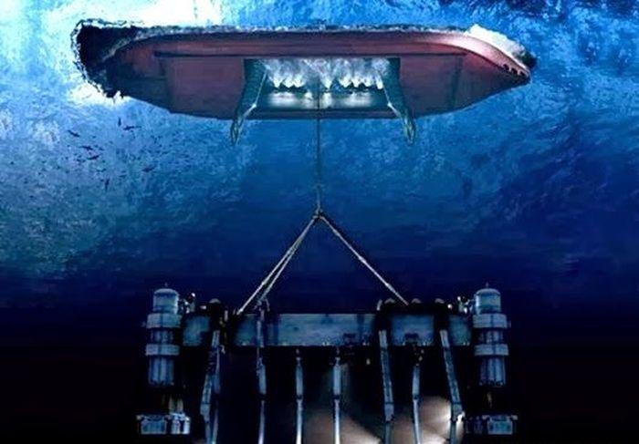 советская подводная лодка затонувшая в тихом океане