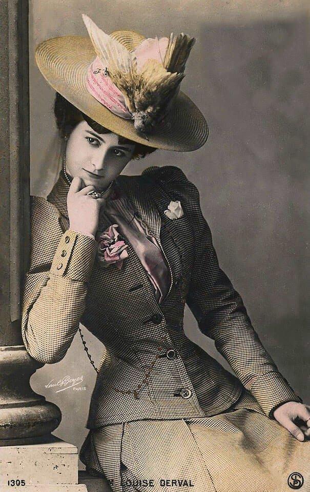 Мария-Луиза Дерваль 20 век, красота, фото