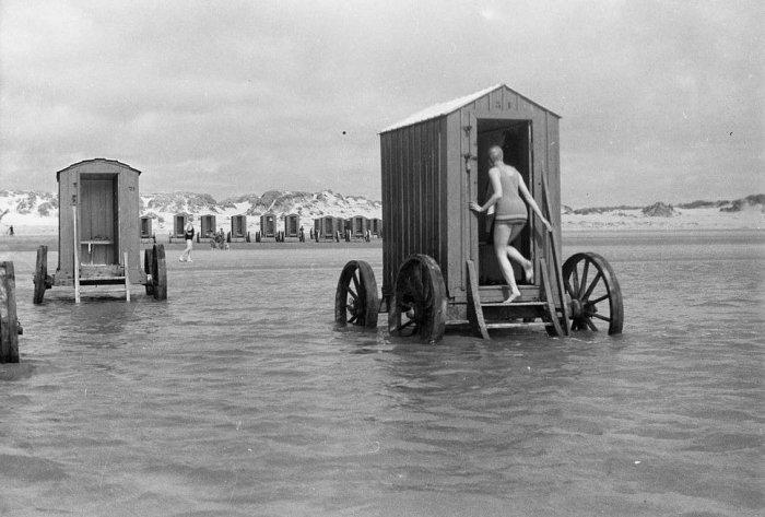 Машины для купания XIX-го столетия