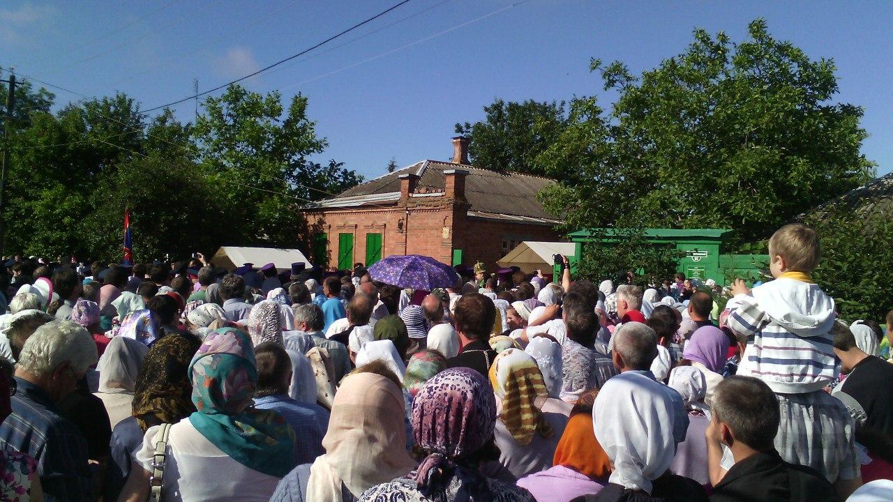 Братья и сестры! Поздравляю всех со всецерковной канонизацией св. праведного Павла Таганрогского!