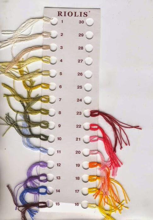Простые схемы цветов связанных крючком
