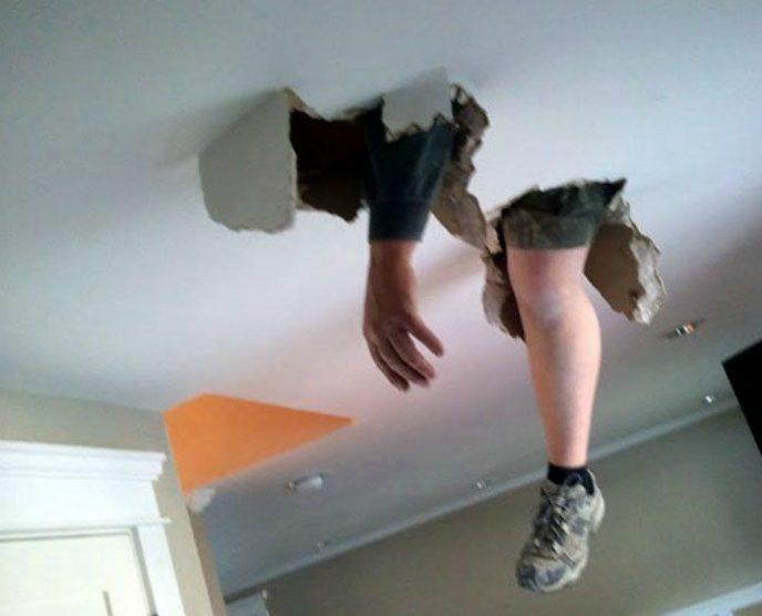 Ох уж эти натяжные потолки!