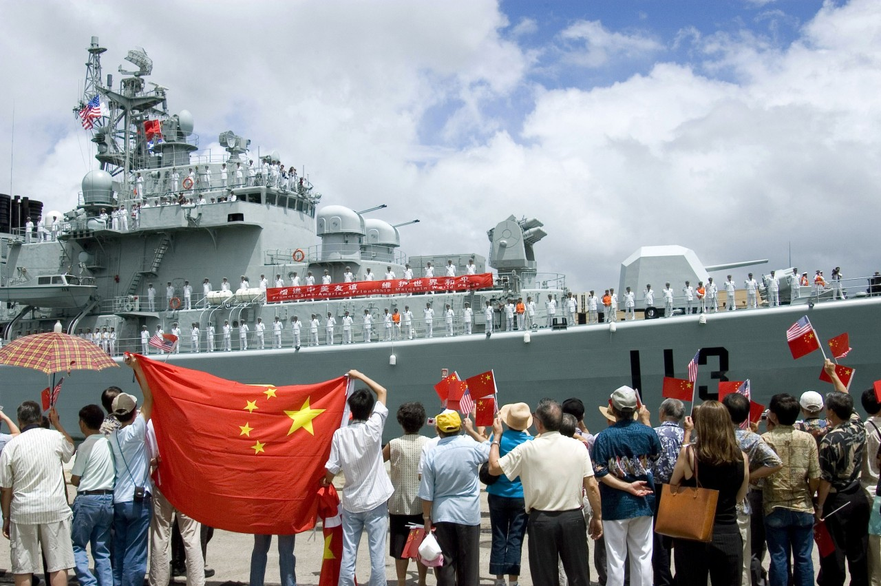 О китайской кораблестроительной программе