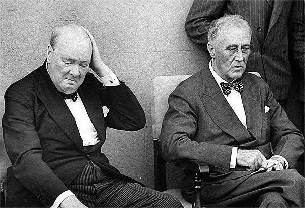 Как Черчилль и Рузвельт гото…