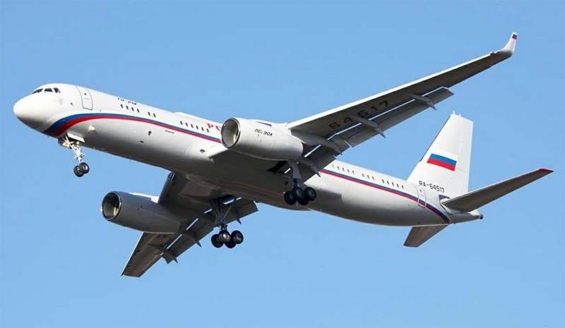 Второй самолет Ту-214 ПУ-СУБ…