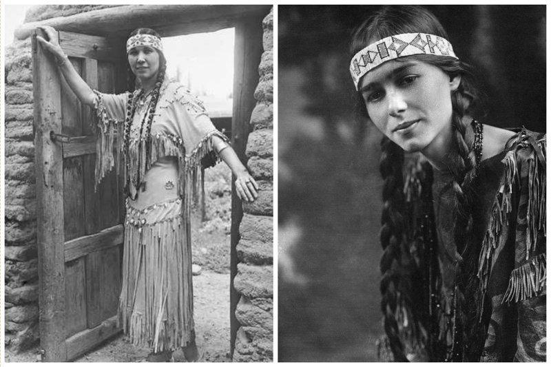 Женщины из племени Чероки женщины, индейцы, красота, племена, прерии