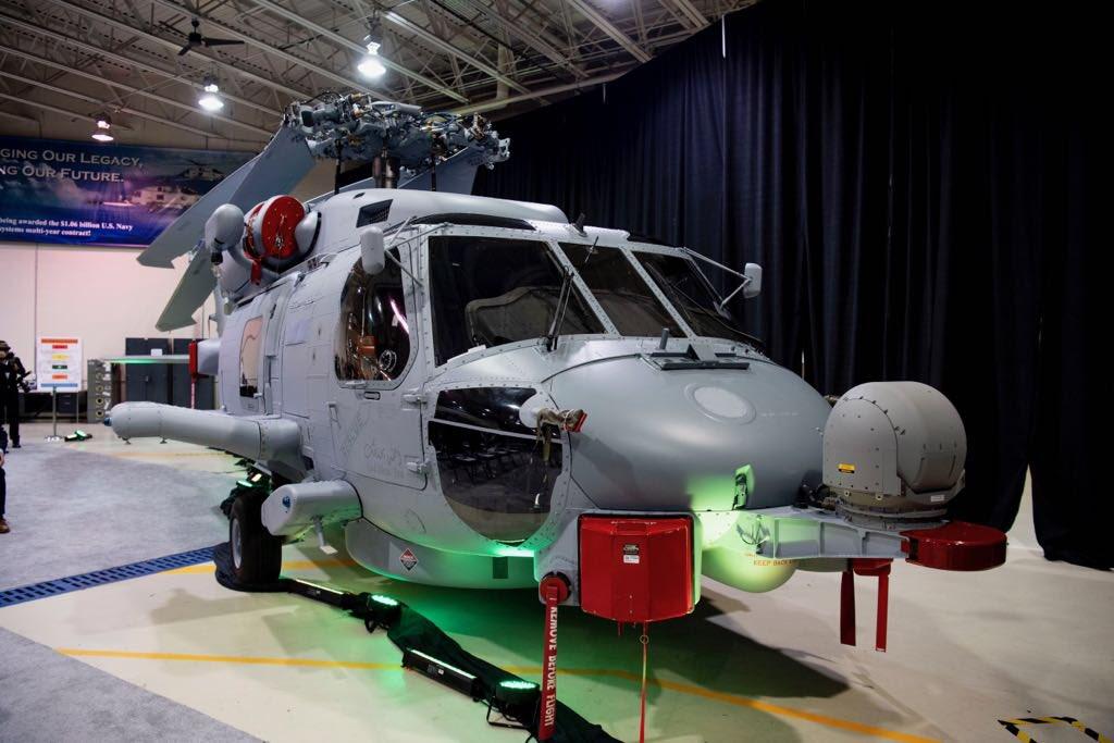Саудовская Аравия получила первый американский корабельный вертолет MH-60R