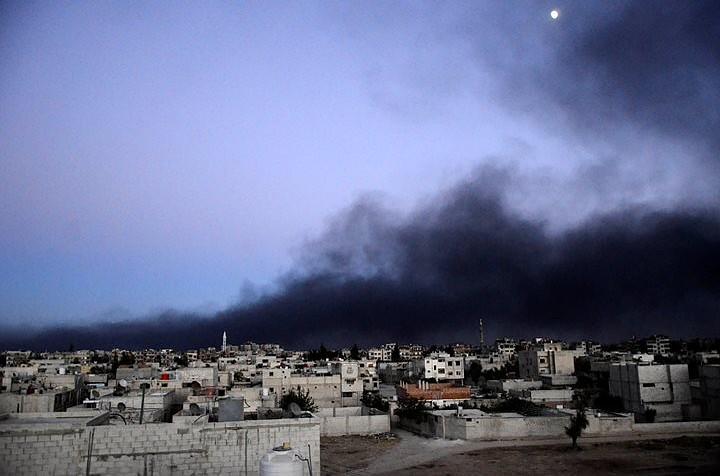 Спутник снял и передал последствия удара Израиля по Сирии