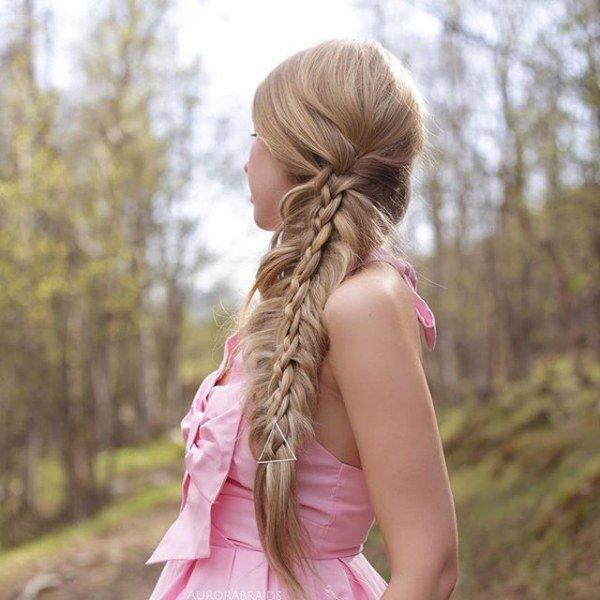 Классные косы от двух норвежских сестричек