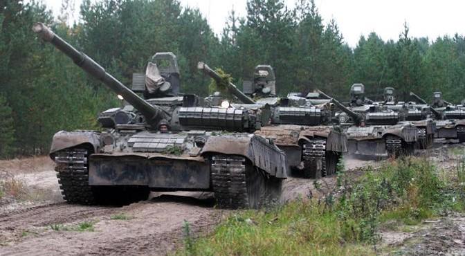 Танковая атака генерала Шаманова