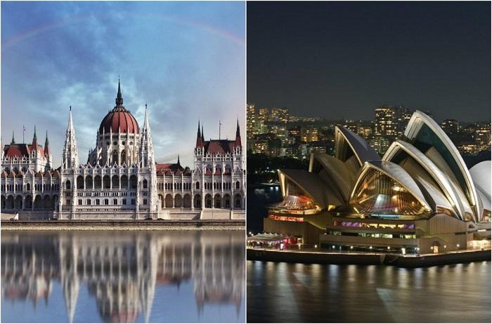 Красивые города, в которых обязательно нужно побывать туристу.