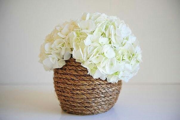 Корзинка из вазочки (Diy)
