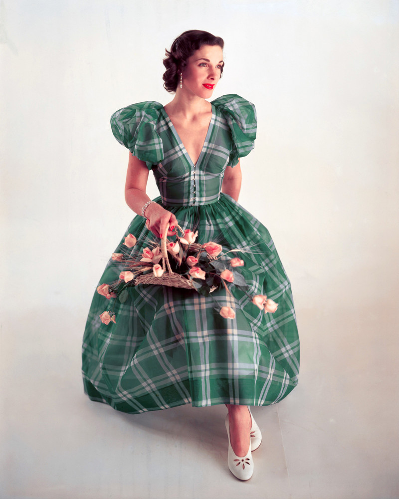 Послевоенный гламур: ослепительные фотографии 1940-х годов  гламур, мода