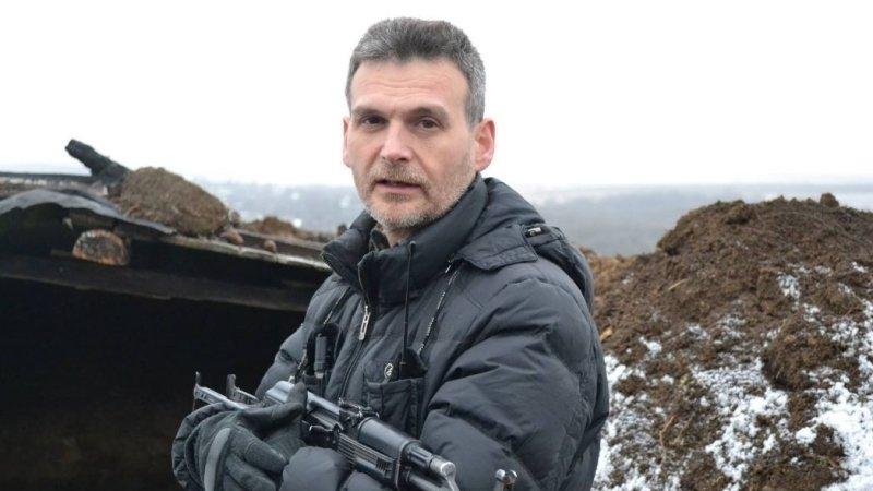 """Батальон """"Призрак"""" и позиционная война на линии Желобок-Бахмутка"""