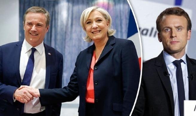 Марина, вперёд! Ле Пен и Дюпон-Эньян образовали коалицию, исход выборов непредсказуем