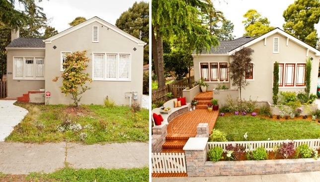 Преображение фасада и дворика: 18 домов до и после