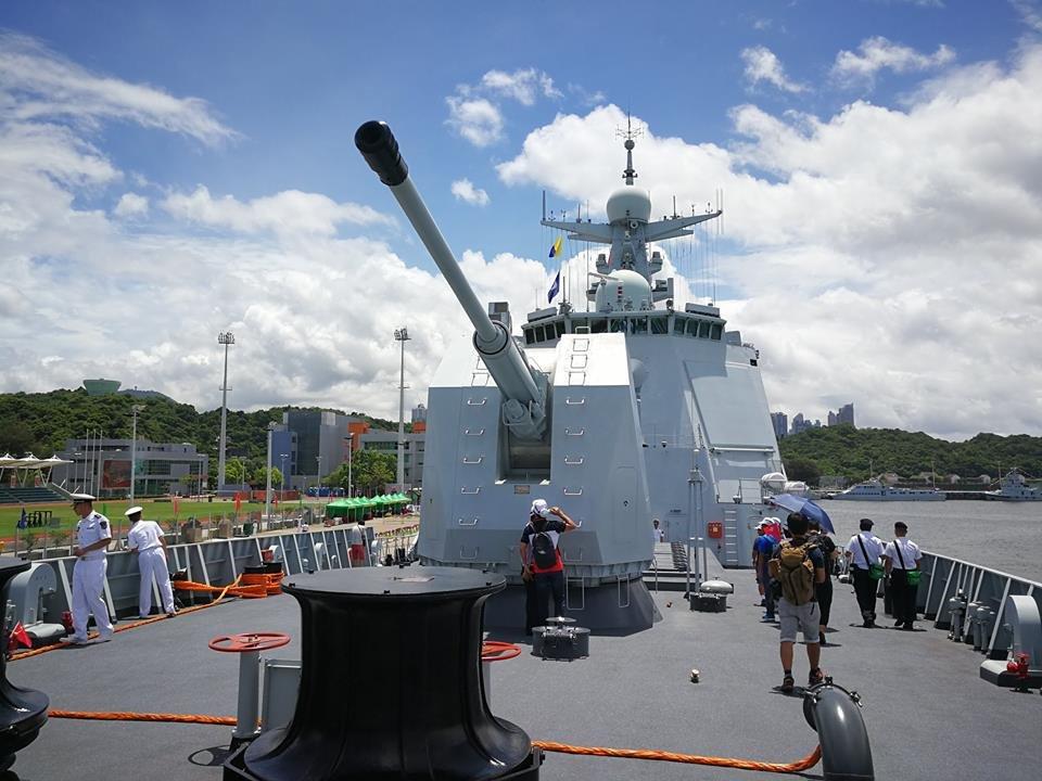 Китайская 130-мм корабельная артиллерийская установка H/PJ45A