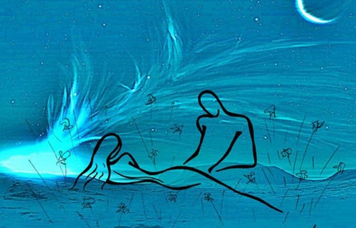 Картины художницы, которая рисует любовь простыми линиями