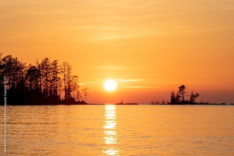 Сибирь, Байкал, октябрь, палатка