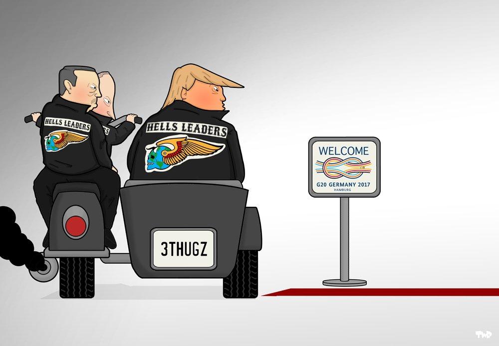 G-20 в карикатуре