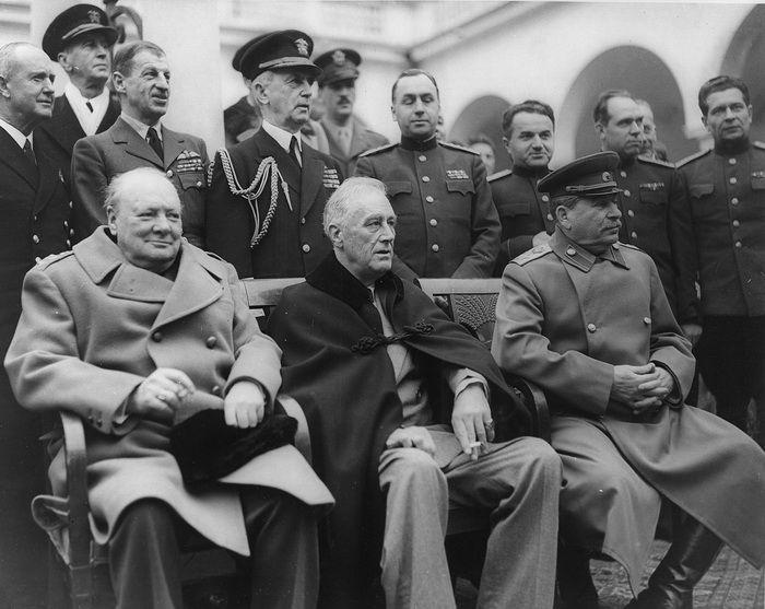 Как Сталин в Ялте Крым спас или начало нового мира