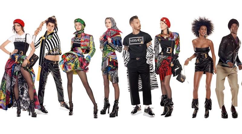 «Мода — это заявление о себе»: Versace создала самое длинное рекламное изображение