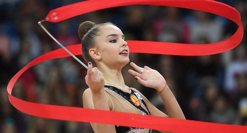 Россиянки заняли весь пьедестал на этапе Гран-при по художественной гимнастике