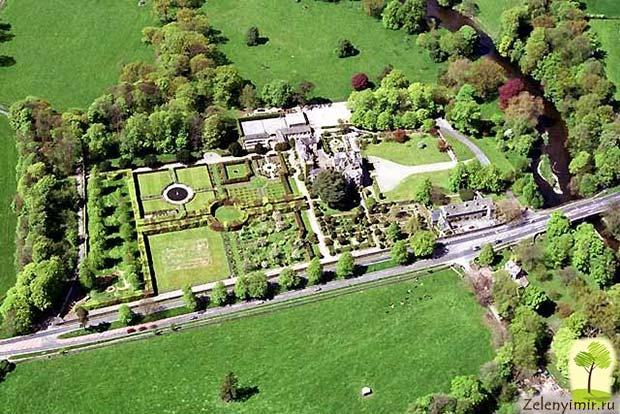 Сад Левенс Холл – самый красивый и самый ароматный сад в мире, Англия - 3
