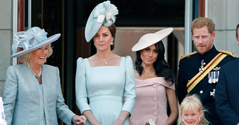 Первые леди Англии дают уроки стиля: Меган Маркл и Кейт Миддлтон знают 11 секретов