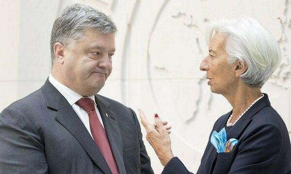 На Украине хотят порвать с МВФ
