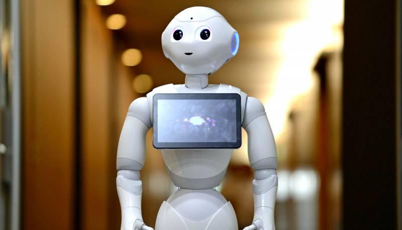 Робот впервые выступит с реч…