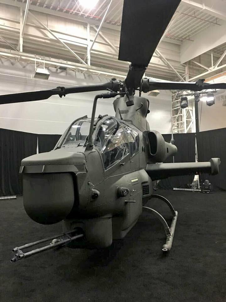 Первый вертолет AH-1Z для Пакистана