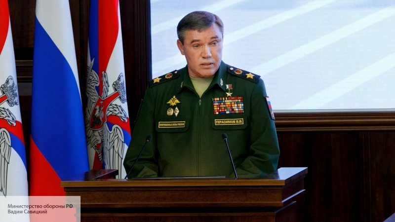 Начальник Генштаба РФ провел…
