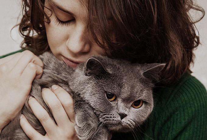 7 типов одиноких женщин с котиком