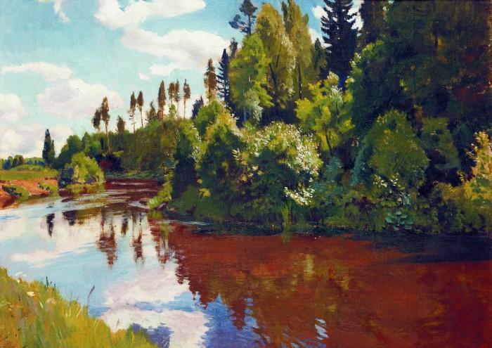 пейзажи художник Аркадий Рылов - 05