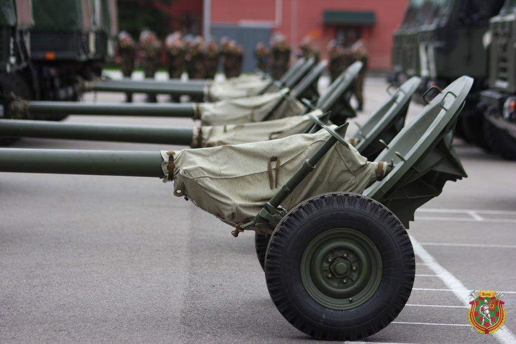 Белорусская армия получает 120-мм минометы 2Б23 «Нона-М1»