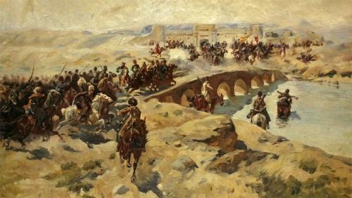 Как русские войска утопили британские амбиции в Кушке