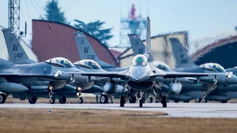 Парламент Болгарии одобрил закупку F-16 на замену МиГ-29