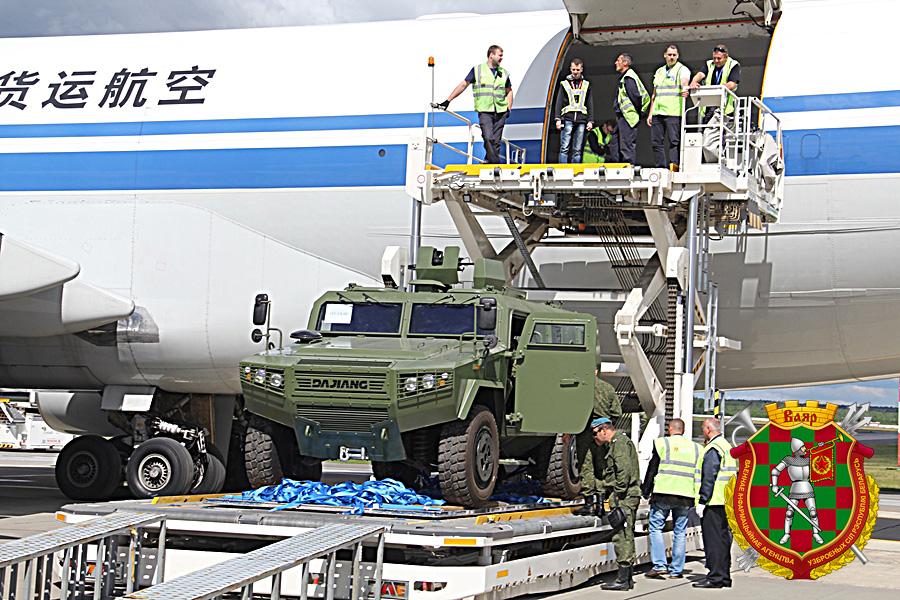 Первая партия китайских бронеавтомобилей CS/VN3 прибыла в Белоруссию