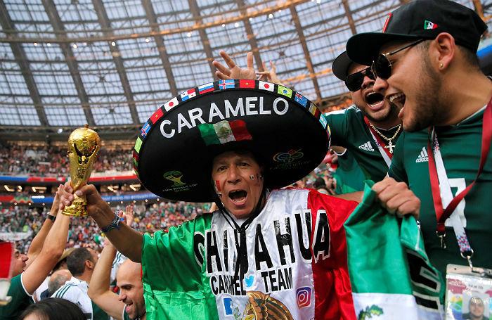 В Москве мексиканский праздник, но немцы не падают духом