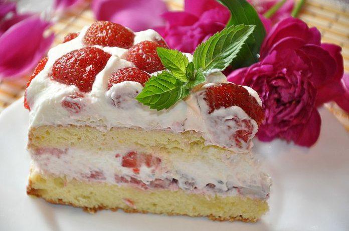 Торт » Виктория» нежный и воздушный