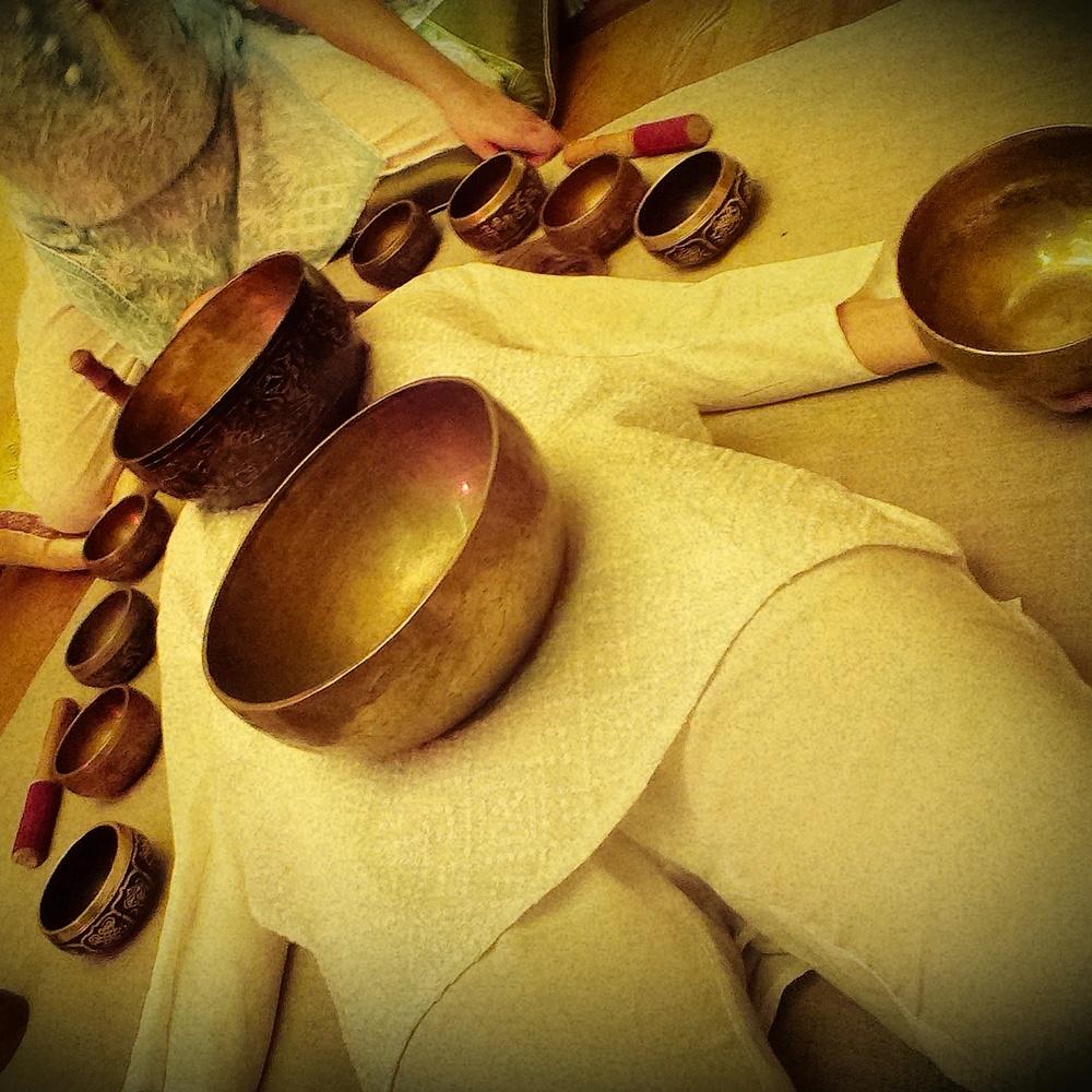 Звуковой тибетский массаж – релаксация, медитация, покой.
