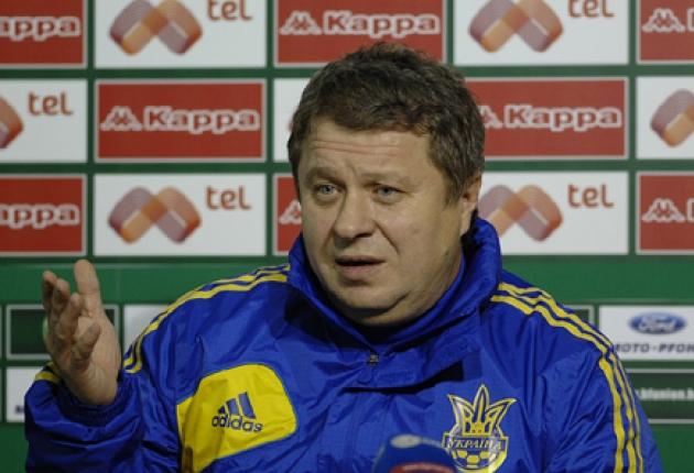 Тренер сборной Украины отказался участвовать в войне на востоке страны